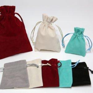 Linea sacchetti in floccato